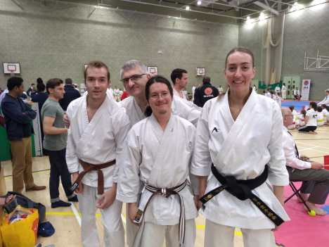 Cambridge Karate Dojo Team